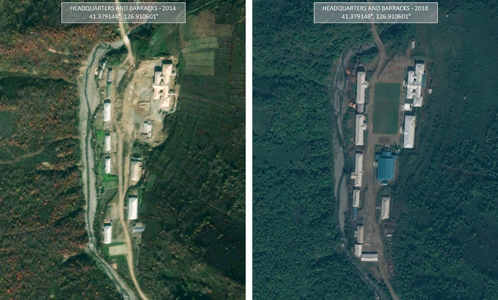 Satellite imagery North Korea Ballistic missile site